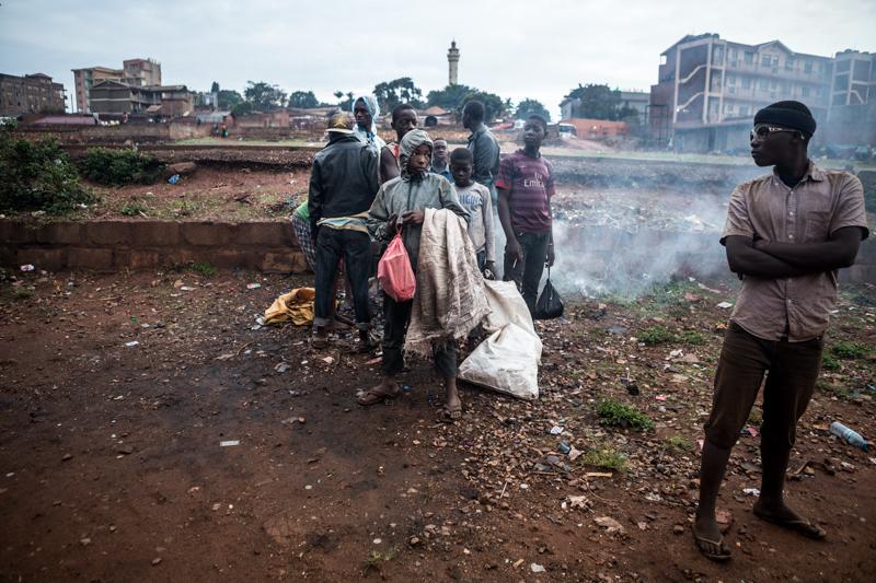 street children at the street aleksandra dynas